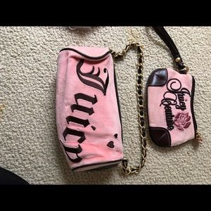 juicy couture purse and mini purse
